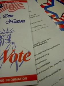 Election brochure