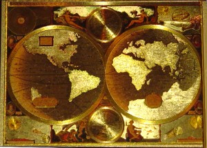 flattened globe